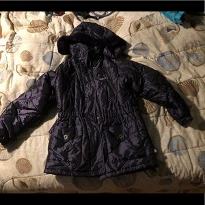 Rothschild puffy jacket with detachable hood 14L